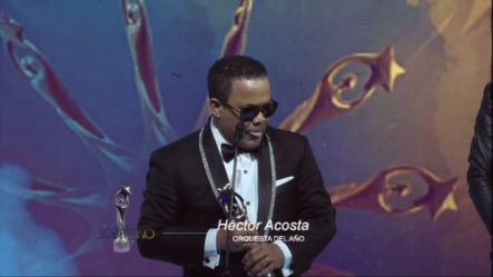 Hector Acosta Se Lleva El Soberano A La Orquesta Del Año