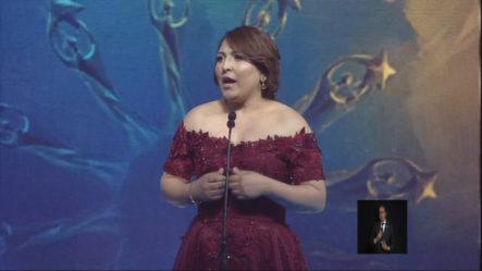 Las Palabras De La Presidenta De Acroarte En Premios Soberano 2019