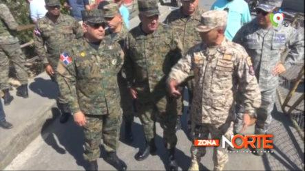 Ministro De Defensa Visita La Frontera Para Verificar Algunos Puntos De Contrabando