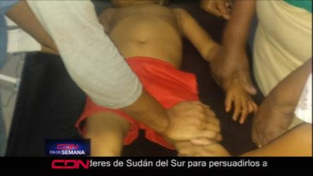 Samaná- Agente De PN Hiere A Un Hombre Y A Un Niño Al Caerse Su Escopeta Durante Patrullaje