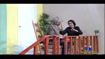 Los Abuelos En El Show De La Comedia