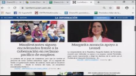 Infórmate Con Las Portadas De Los Principales Periódicos De Hoy 03 De Octubre 2019