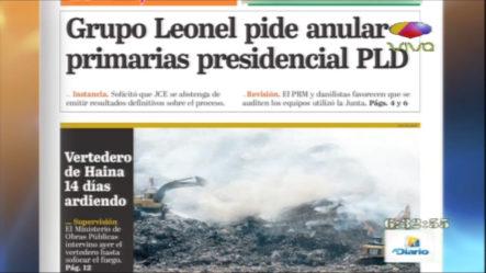 Infórmate Con Las Portadas De Los Principales Periódicos De Hoy 09 De Octubre 2019