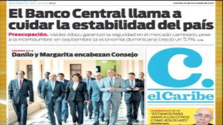Infórmate Con Las Portadas De Los Principales Periódicos De Hoy 24 De Octubre 2019