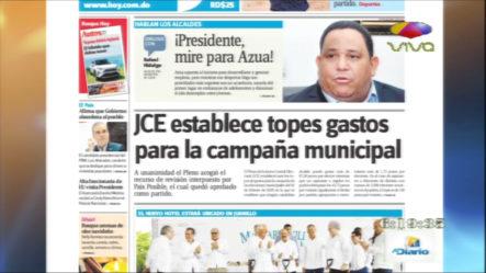 Informaciones En Las Portadas De Los Periódicos Del Día De Hoy 21 Octubre 2019