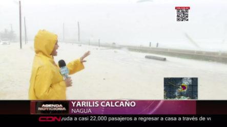 Así Está La Tormenta Isaías Desde El Malecón De Nagua