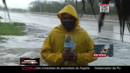 Fuertes Lluvias Y Vientos En San Pedro De Macorís