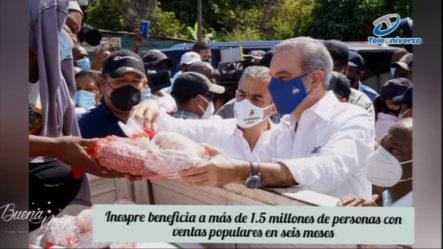 INESPRE Beneficia A Más De 1.5 Millones De Personas, !Mira Cómo! En | Buena Noche