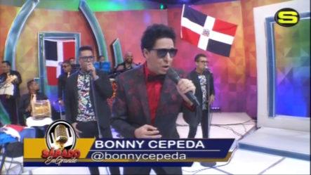 La Excelente Presentación Artística De Bonny Cepeda En Sábado En Grande Con Jhon Berry