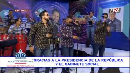 Presentación De Chiquito Team Band | Pégate Y Gana Con El Pachá