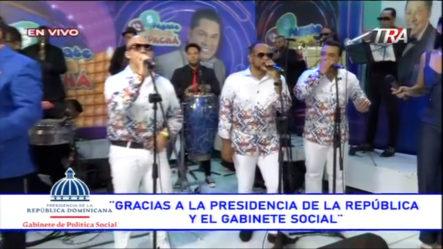 Presentación De Pochy Familia Y La Coco Band En | Pégate Y Gana Con El Pachá