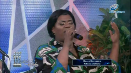 Presentación De Mercy Mercedes, Artista Cristiana En   Buena Noche