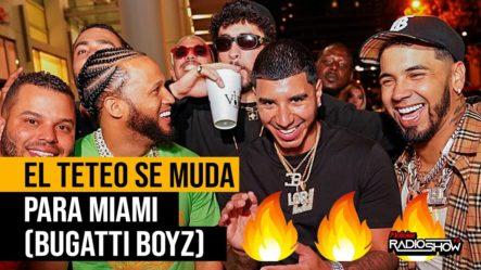 BAD BUNNY, EL ALFA & ANUEL MUDAN EL TETEO PARA MIAMI (BUGATTI BOYZ)