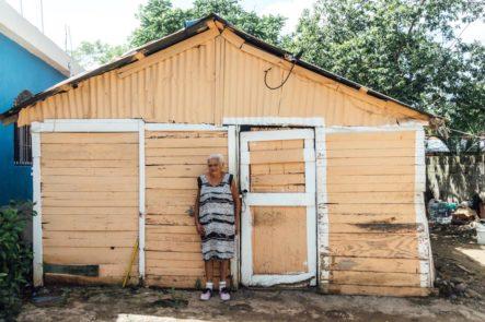 INVI Inicia La Construcción De Vivienda De Anciana Identificada Durante Jornada De Vacunación