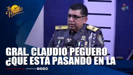 Gral. Claudio Peguero ¿Qué Está Pasando En La (COOPOL)?