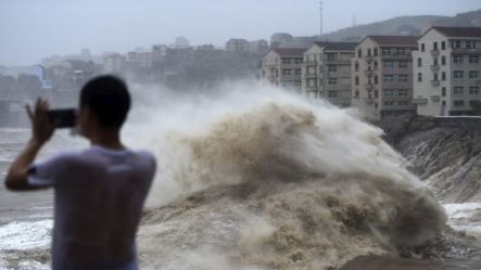 Al Menos 13 Muertos, 16 Desaparecidos Y Más De Un Millón De Evacuados Tras El Paso Del Huracán Lekima En China