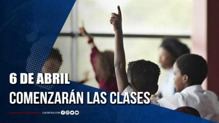 El 6 De Abril Comenzarán Las Clases Semipresenciales; Los Estudiantes Serán Divididos En Grupos   Tu Tarde