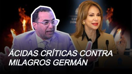 ¿Qué Busca Milagros Germán En El Gobierno?