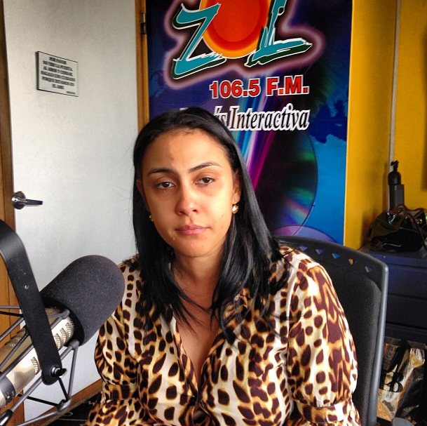 Someten a la justicia a la presentadora Angie Agramonte