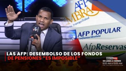 Las AFP No Entregarán El 30%   Asignatura Política