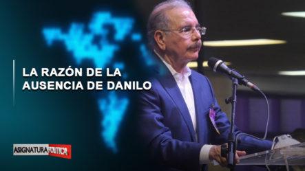 EN VIVO: La Razón De La Ausencia De Danilo   Asignatura Política