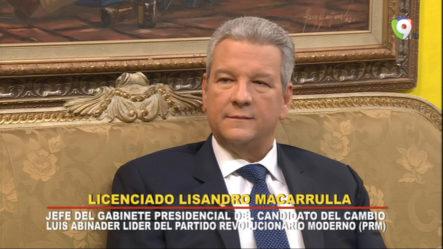 Entrevista Al Lic. Lisandro Macarrulla