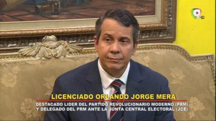 Entrevista Al Lic. Orlando Jorge Mera