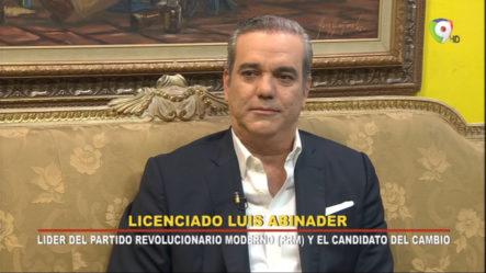 Entrevista A Lic. Luis Abinader
