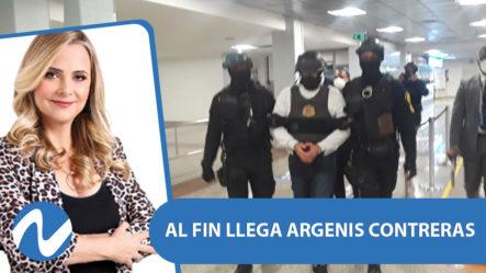 Al Fin Llega Argenis Contreras, Señalado Como El Actor Intelectual De La Muerte De Yuniol Ramírez