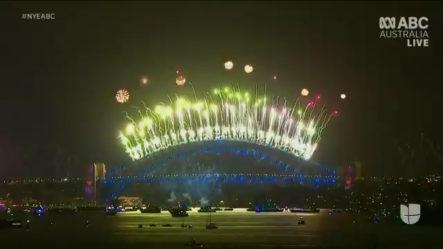 Así Celebró El Hemisferio Oriental La Llegada Del Año Nuevo.