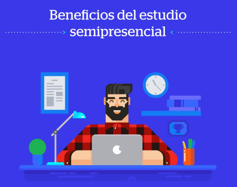 Los Beneficios Del Estudio Semipresencial