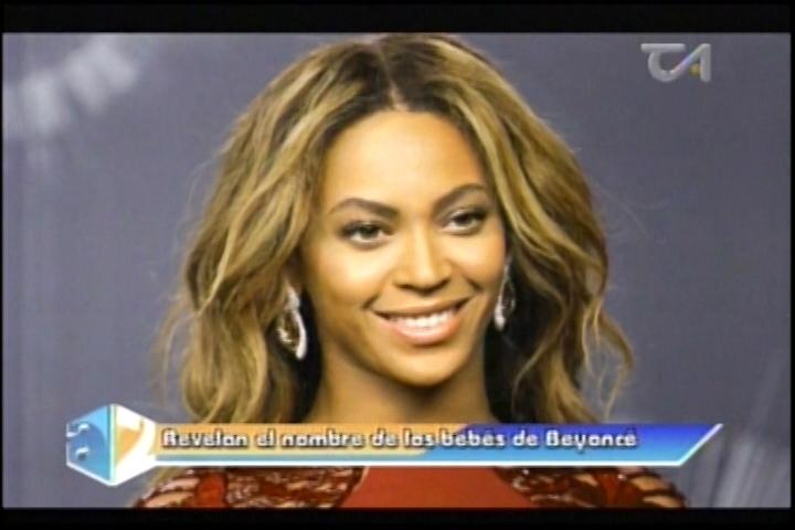 Revelan Nombre De Los Hijos De Beyoncé