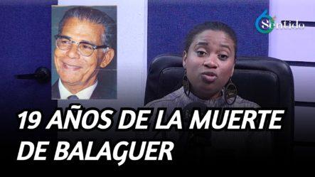 Se Cumplen 19 Años De La Muerte De Balaguer | 6to Sentido