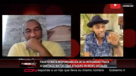 Boca De Piano Responsabiliza A Santiago Matías De Su Integridad Tras Ataques En Las Redes Sociales