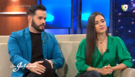 Emotiva Entrevista A Manny Cruz Y Yeri Peguero Junto A Jatnna Tavárez