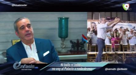 Entrevista De Tú A Tú Con El Precandidato Presidencial Luis Abinader En Énfasis Con Ivan Ruiz
