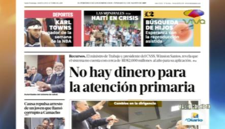 Informaciones En Las Portadas De Los Periódicos De Día De Hoy 29 Octubre 2019