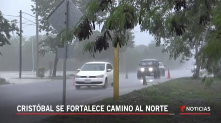 La Tormenta Tropical Cristóbal Se Fortalece En Camino Hacia EE.UU