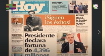 Infórmate Con Las Portadas De Los Principales Periódicos De Hoy 16 De Septiembre Del 2020