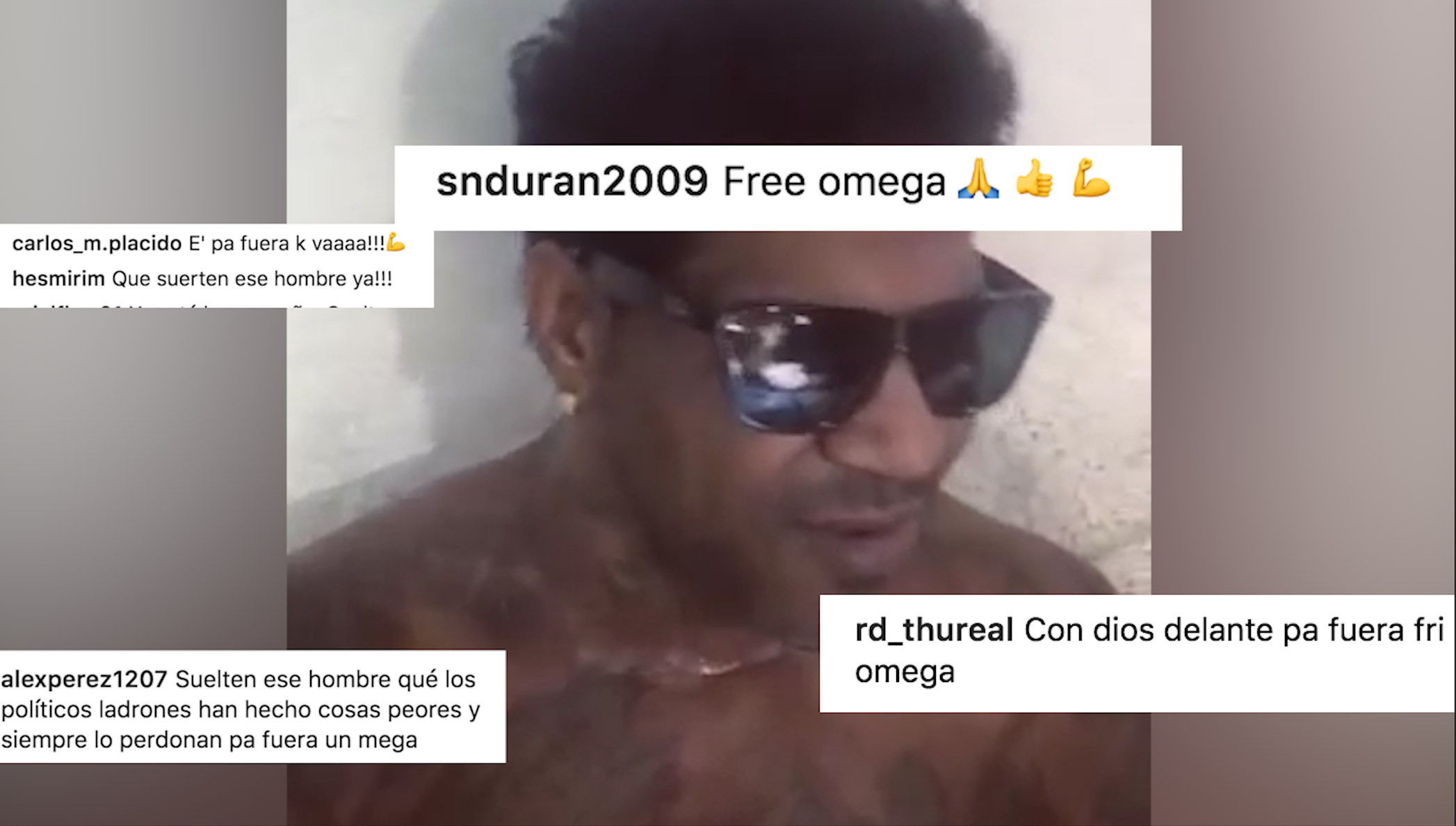"Usuarios En Las Redes Sociales, Piden Libertad De ""Omega"""