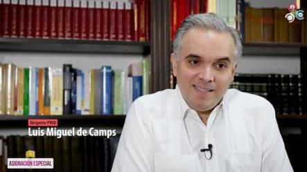Elliott Martinez Entrevista A Luis Miguel De Camps En Una Asignación Especial