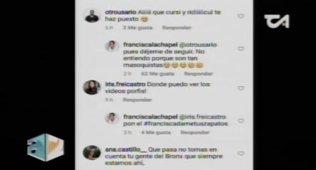 ''Pues Déjenme De Seguir'' EXPLOTA Francisca Lachapel EN LAS REDES SOCIALES
