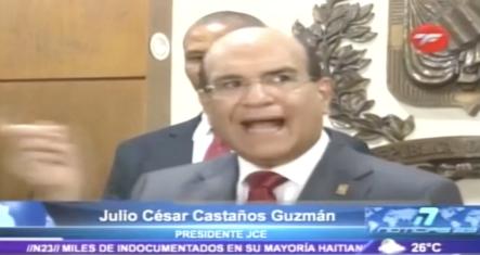 Presidente De La JCE  Promete ''PONER ORDEN''
