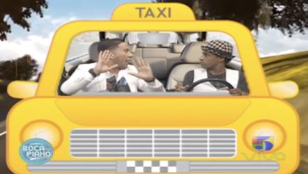 ¡SE PRENDIÓ ESTO! Cristian Casablanca En El Boca Taxi Y Hasta Da Los Numeritos