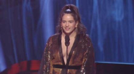 Rosalía Gana A Mejor Canción Alternativa En Los Latin Grammy