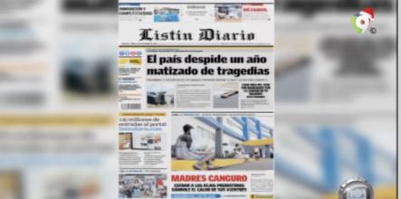 Entérate De Las Noticias Con Las Principales Portadas De Los Diarios De Hoy 31 De Diciembre Del 2018