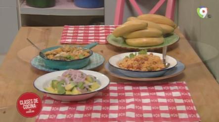 Locrio De Salami Y Locrio De Sardina Con Coco – Clases De Cocina Con Jacqueline