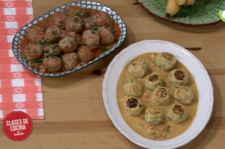 Como Preparar Albóndigas De La Abuela Con Jacqueline En Clases De Cocina