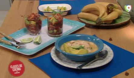 Como Preparar Coctel De Camarones Y Asopao De Camarones En Clases De Cocina Con Jacqueline