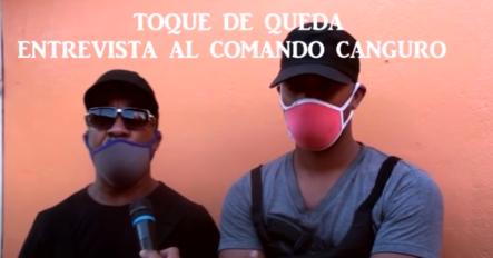Comando Canguro – Entrevista Del Toque De Queda (Estilo Dominicano)